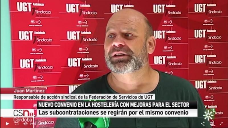 El convenio de la hostelería de Córdoba contempla una subida salarial del 7,5% hasta 2020