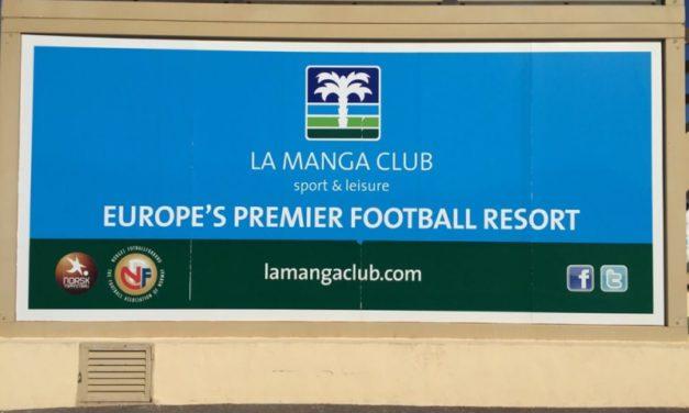 """Firmado un acuerdo de """"Paz Social"""" en el campo de golf de La Manga Club"""