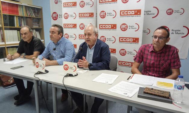 UGT y CCOO anuncian un «verano caliente» ante el bloqueo patronal del convenio de hostelería de Murcia en los últimos 11 años