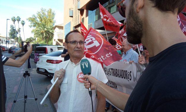 UGT y CCOO de hostelería se manifiestan el lunes 28 en Murcia