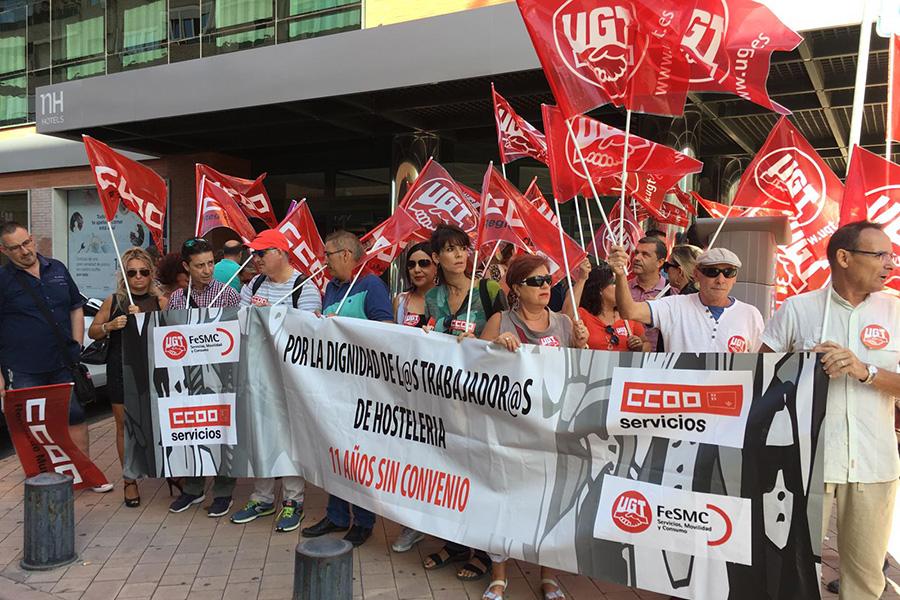 UGT y CCOO de Murcia critican que la patronal de hostelería celebre fastos ostentosos mientras sigue bloqueando el convenio