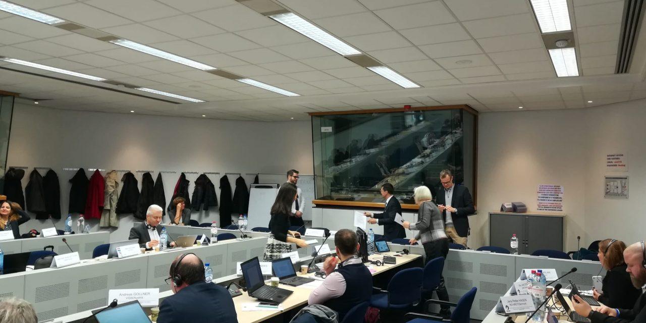 FeSMC-UGT asiste a la reunión del dialogo social de hostelería en Bruselas