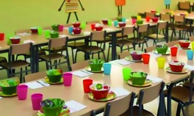 Concentraciones del personal de restauración social y monitoras de comedores escolares de colegios públicos